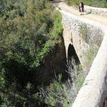 le pont romain à proximité