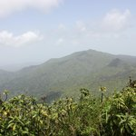 This is the view from the peak
