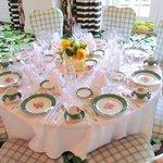 Your Table Awaits YOU!
