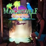 Margaritaville is downstairs