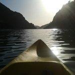 Embalse desde la Canoa