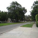 Caminho para o Park Griffith