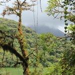 Vue du centre du volcan Cerro Chato et du Volcan Arenal (en face)