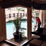 Grand Family Suite w/ direct access into shallow area of pool- perfect for small children!