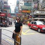en pleno HK