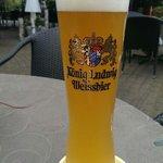 Heerlijk Weizen bier, vers getapt!