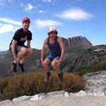 Jump at Cradle Mountain, Tasmania