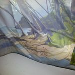 mold filled shower curtain