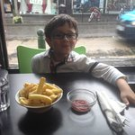 Alexander loves his chips !!