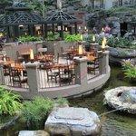 Cascades dining.