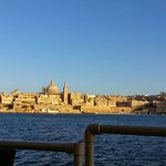 View of Valetta from the Lido Bar. To be honest you won't get a better view for sunset.