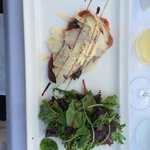 Plat (aubergine et parmesan)