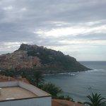 Panorama su Castelsardo dall'hotel