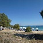 Plage d'Agios Prokopios