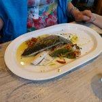 pesce al vapore con verdure