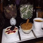 café gourmand - with the typical choice of sweets and haribo! :)