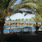 Pool/beach views