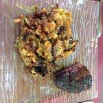 Magret de canard et pommes de terre salardaises
