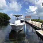 The dock & ramp
