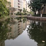 Peaceful environment in a residential district in Zhongshan