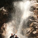 The waterfall rappel