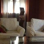 piccolo soggiorno in camera