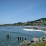 Oceanside RV Park - nearby river 'beach'