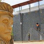 Rockclimbing wall