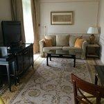 Separate Lounge Area