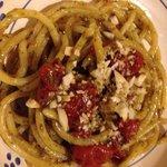 Spaghettoni tricolore...Che bontà!!!