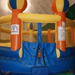 Under-8 bouncy house