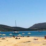 Organized beach (10 min drive from hotel)