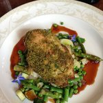 Herbed Crusted Chicken with Veggies