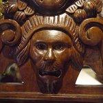 Lion Wood Carving