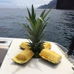 Fresh pineapple waiting for you!