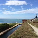 View from the top of Fort Jefferson
