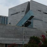 A picture of the Perot Museum of Nature and Science