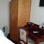 Vista do armário do apartamento