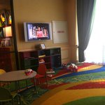 kids play area in lobby