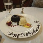 Our 14th wedding anniversary - Sweet!