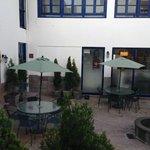 Vista area interna hotel