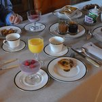 Every breakfast was both a wonderful spectacle and delicious
