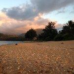 Beach on property!