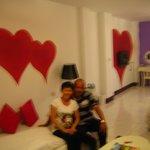 The room decoration