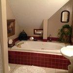 Luxurious bathroom with Jacuzzi