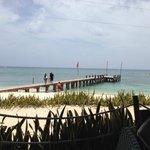 pier by beach