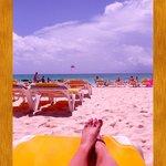There's plenty of sun @ the beach!