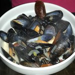 perfectly steamed mussels