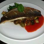Chef Jac recommended sea bass