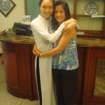 With Oanh (Mary), my Vietnamese big sister